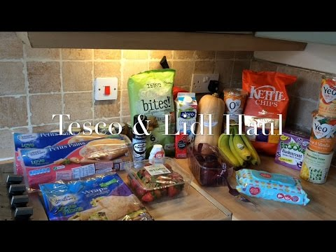 Tesco & Lidl Shopping Haul For Slimming World | Tesco Offers