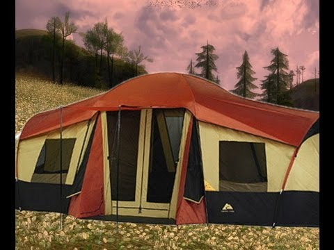 Ozark Trail 3 room tent (part 1)