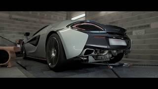QuickSilver Exhaust Bumber Ad 3 - McLaren 570S