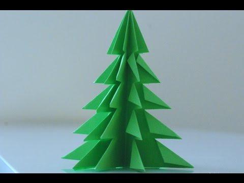 Jak Zrobić Choinkę Z Papieru / How To Make A Paper Christmas Tree