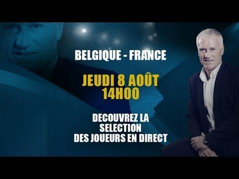 Equipe de France : Conférence de Didier Deschamps en direct jeudi 8 à 14h00 !