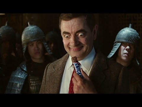 Mr Bean comercial snickers
