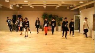 T ARA Cry Cry Dance Version practice HD