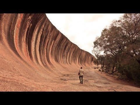 Каменная волна в Австралии.