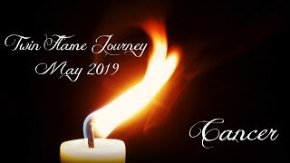 Cancer - Karmic interference & the unawakened twin! - Twin Flame Journey May 2019