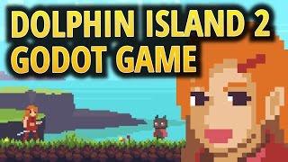 Beautiful Godot Engine Game: Dolphin Island 2