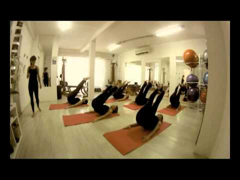 Aula coreografada de Pilates Solo  – PHYSIO PILATES