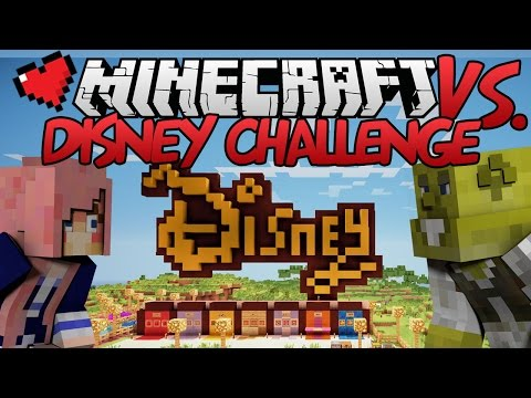 Disney Challenge | Minecraft VS. Ep 15