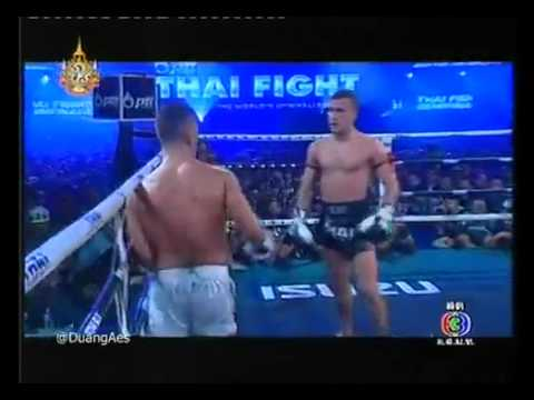 Fabio Pinca vs Mosab Amrani - Thai Fight 2011 2-2