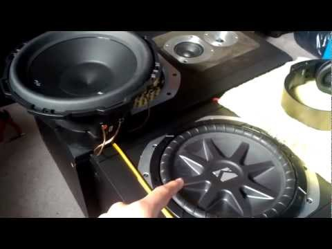 How to wire 2 (Dual Voice Coils Subs) to a 2 Ohm Impedence Load