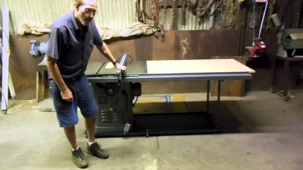 5 Of 5 How To Make Table Saw Fence Guide Rails