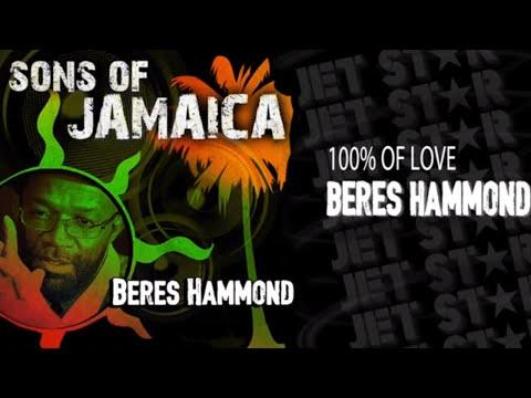 Beres Hammond - 100% Of Love - 90'S Reggae Dancehall - (Official Audio)