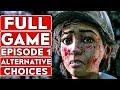 THE WALKING DEAD Season 4 EPISODE 1 Alternative Choices Gameplay Walkthrough Part 1 FULL GAME