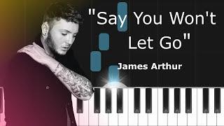 James Arthur 34 Say You Won 39 T Let Go 34 Epic Piano Tutorial