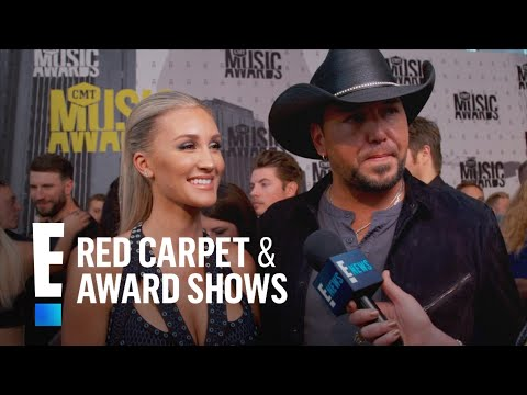 Jason Aldean & Brittany Kerr Have Fun Baby Name Ideas!   E! Live from the Red Carpet