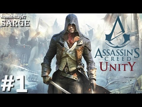 Zagrajmy w Assassins Creed Unity PS4 odc. 1 Paryż w czasach rewolucji francuskiej