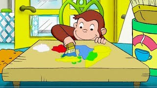 Curious George 🐵Color Me Monkey 🐵Kids Cartoon 🐵Kids Movies 🐵TV Show For Kidsdr