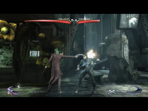 Injustice: The Joker vs. Nightwing - 60 fps Test [PC]