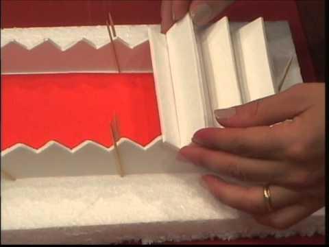 Como preparar una escalera en pastillaje pastillaje for Como realizar una escalera caracol