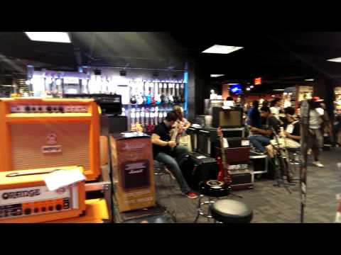 Hell Is Truly The Times Square Guitar Center