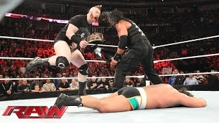 Roman Reigns vs. Rusev: Raw, November 23, 2015