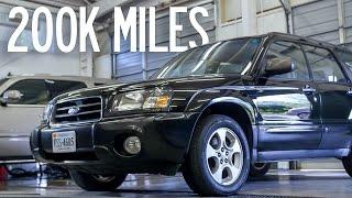 Detailing a 200,000 Mile Car