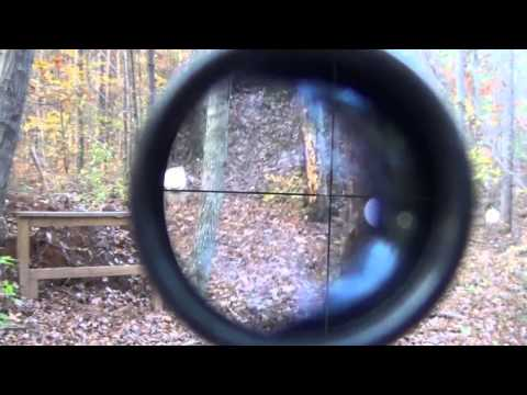 Marlin 980-DL 22 Magnum rifle shooting