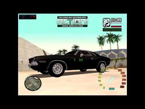 gta sanandreas DODGE CHARGER car mod review
