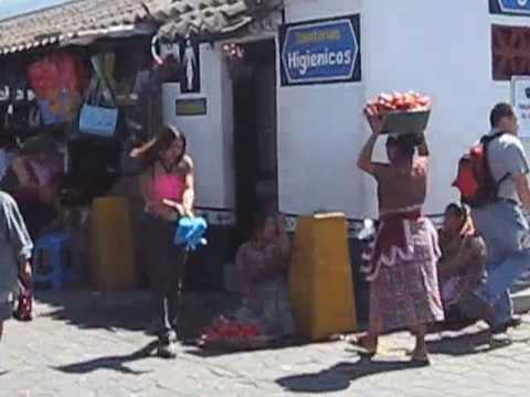 Market in Antigua, Guatemala