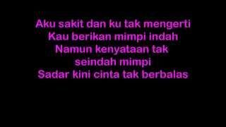 Lirik Lagu Yovie N Nuno Sakit Hati Koleksi Lirik Lagu Indo