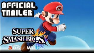 Super Smash Bros for 3DS & Wii U E3 Official Reveal Trailer E3M13