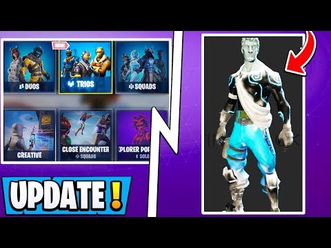*NEW* Fortnite Update! | 7.10 Changes, Trios Mode, Winter Skin Reveal!
