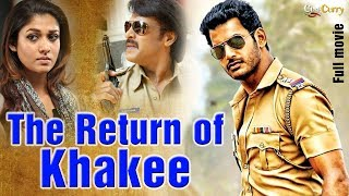 The Return of Khakee (2008) │Vishal, Nayantara │Latest Hindi Action Movie 2017