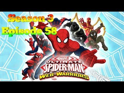 Ultimate Spiderman season 3 episode 58 in Hindi by world cartoon thumbnail