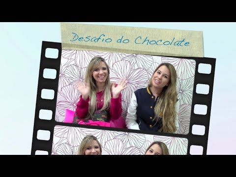 Desafio do Chocolate! Com Taciele Alcolea