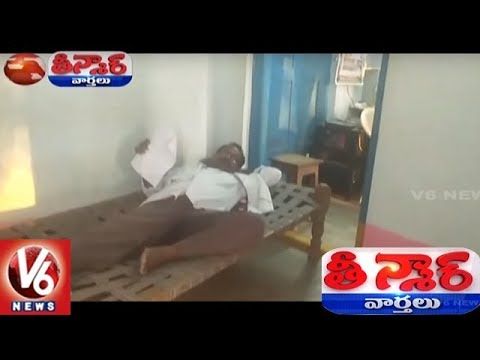 Govt Negligence : Man Shift His House To MRO Office In Komaram Bheem Dist | Teenmaar News