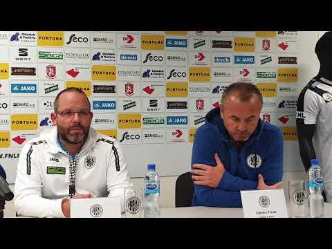 Tisková konference po utkání FC Hradec Králové - FK Pardubice 1:0