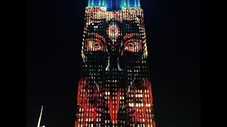 "Bizarre Images of ""Satan"" Appear on Empire State Building"