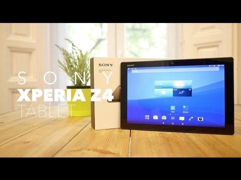 SONY XPERIA Z4 Tablet, review en espan?ol