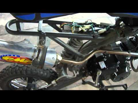 Apollo Pit Bike Complete Rebuild (Part 2)