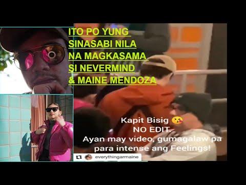 Video Na Kumakalat Ngaun Sa Socmed Na Magkasama Sina Mr Nevermind At Maine Mendoza Totoo Ba!!!!