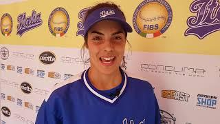 Erika Piancastelli parla della vittoria contro la Gran Bretagna