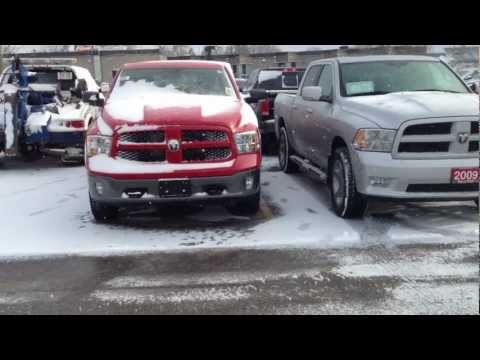2013 Ram 1500 Outdoorsman 4x4 Crew Cab Product Review at MacIver Dodge Jeep in Newmarket. Ontario