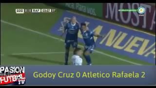 Годой Крус : Атлетико Рафаэла
