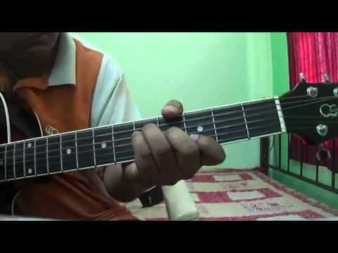 Rabba main toh mar gaya from Mausam on Guitar