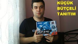 R7 240/AMD/Ekran kartı/Türkçe Tanıtım/Oyun testi - GTA V/CSGO/LOL Fx 6300