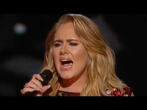Adele Drops F Bomb Live On Grammys 2017 - VIDEO