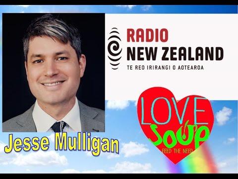 With Jesse Mulligan Radio NZ 22nd September 2015