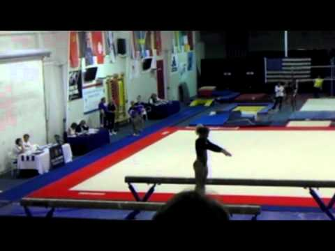 Jenny Hansen - beam national elite Qualifier May 2012