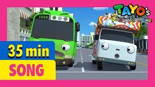 Boom Chaka Boom and more Songs medley (35 mins) l Tayo's Sing Along Show 2 l Tayo the Little Bus